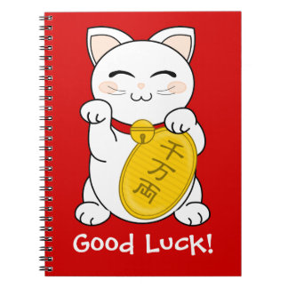 Gato de la buena fortuna - Maneki Neko Cuaderno