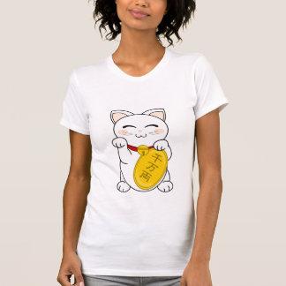 Gato de la buena fortuna - Maneki Neko Camisetas