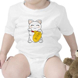 Gato de la buena fortuna - Maneki Neko Traje De Bebé