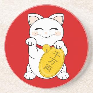 Gato de la buena fortuna - Maneki Neko Posavaso Para Bebida