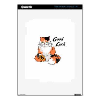 Gato de la buena suerte iPad 3 pegatinas skins