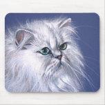 Gato de la chinchilla alfombrilla de ratón