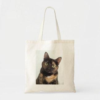 Gato de la concha bolsa tela barata