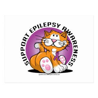 Gato de la epilepsia postal
