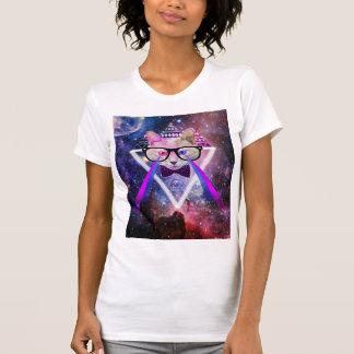 Gato de la galaxia del inconformista camiseta