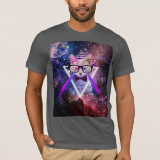 Gato de la galaxia del inconformista playera