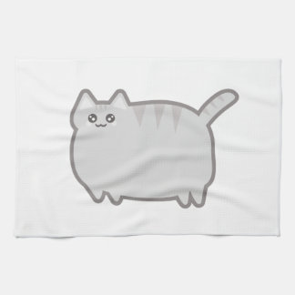 Gato de la grasa de Kawaii Toallas