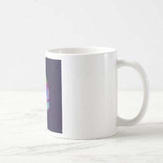 Gato de la imagen taza básica blanca
