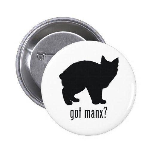 Gato de la Isla de Man Pins