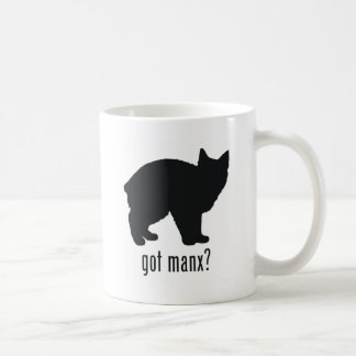 Gato de la Isla de Man Taza De Café