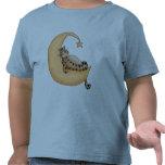 Gato de la luna y de la estrella camiseta