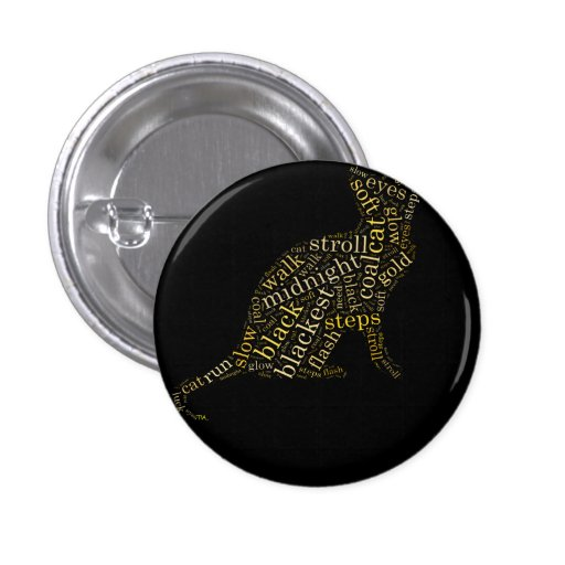 gato de la magia negra pin