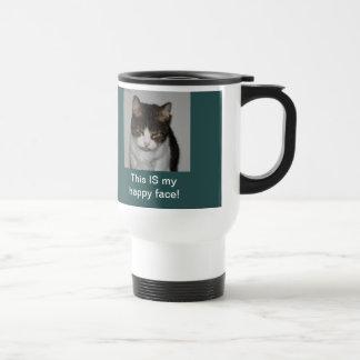 Gato de la mañana - taza personalizada