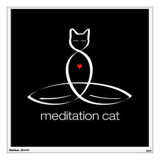 Gato de la meditación - texto regular del estilo
