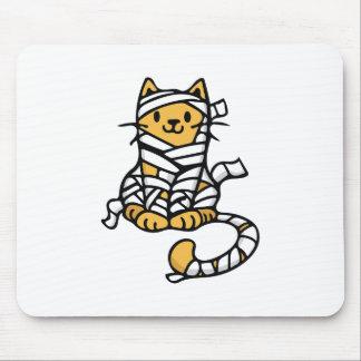 Gato de la momia alfombrillas de ratones