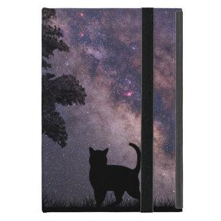 Gato de la noche iPad mini cárcasas