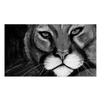 gato de la noche tarjetas de visita