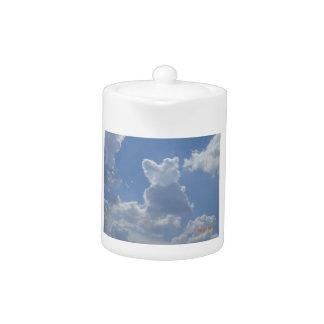 Gato de la nube que mira las nubes…