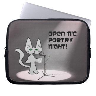Gato de la poesía manga portátil