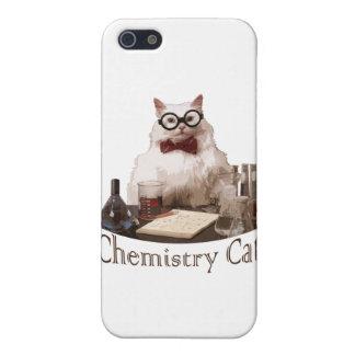 Gato de la química (de reddit de los memes 9gag) iPhone 5 carcasas