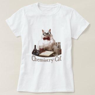 Gato de la química (de reddit de los memes 9gag) playera