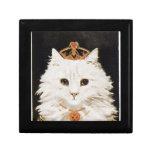 Gato de la reina caja de joyas