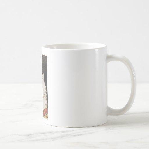 Gato de la reina taza de café