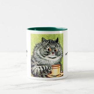 Gato de la taza de té de Louis Wain