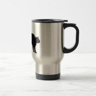 Gato de las brujas tazas de café