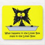 Gato de Litterbox Alfombrillas De Ratones