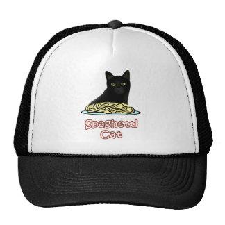 Gato de los espaguetis gorra