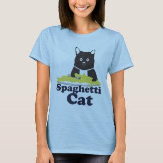 Gato de los espaguetis playera