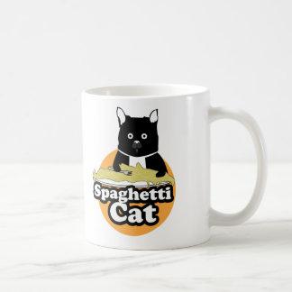 Gato de los espaguetis taza