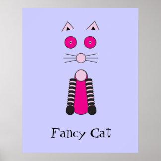 Gato de lujo poster