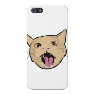 Gato de MOAR iPhone 5 Cárcasas
