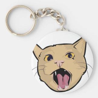 Gato de MOAR Llavero Personalizado