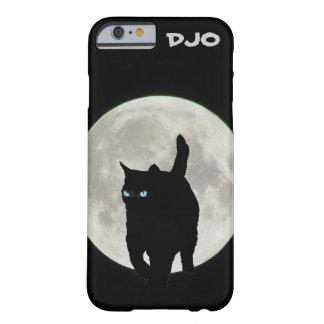 Gato de Ninja de la Luna Llena Funda Para iPhone 6 Barely There
