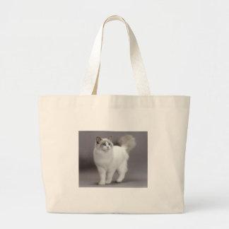 Gato de ojos azules Purfection de Ragdoll Bolsa