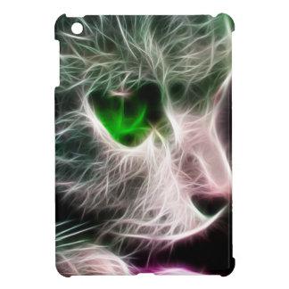 Gato de ojos verdes de Fractalius