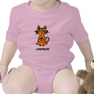 Gato de OM - ropa de la yoga del bebé Trajes De Bebé