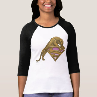 Gato de oro de Supergirl Tee Shirts