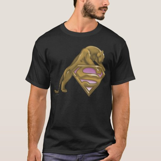 Gato de oro de Supergirl Playera