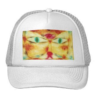 Gato de Paul Klee y gorra del pájaro