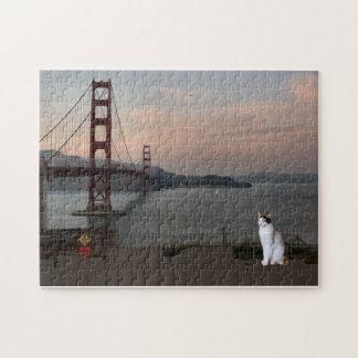 Gato de puente Golden Gate Puzzle Con Fotos
