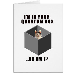 Gato de Quantum Felicitación