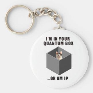 Gato de Quantum Llavero