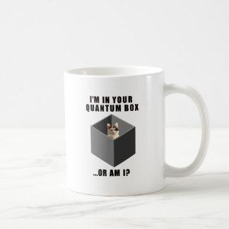 Gato de Quantum Taza De Café