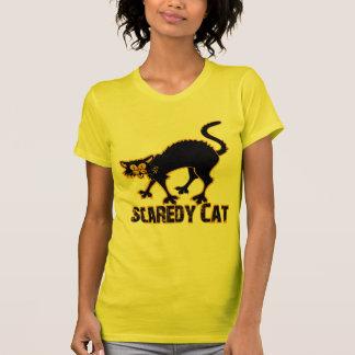 Gato de Scaredy Tee Shirt