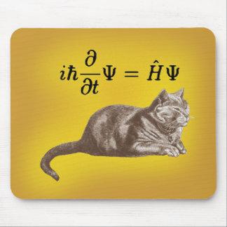 Gato de Schrodinger Mouse Pad