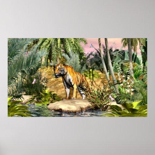 Gato de selva por Chellea Posters